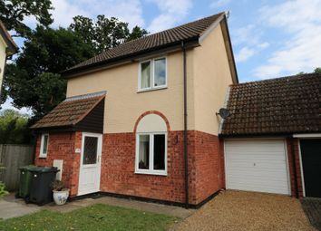 Thumbnail 3 bed link-detached house to rent in Lowes View, Diss