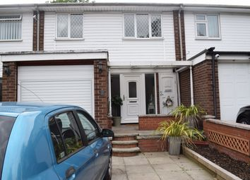 Thumbnail 3 bed terraced house for sale in Lesley Road Stretford, Manchester