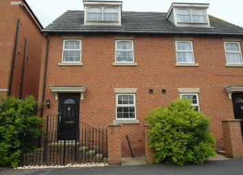 Thumbnail 3 bed town house to rent in New Village Way, Churwell, Leeds