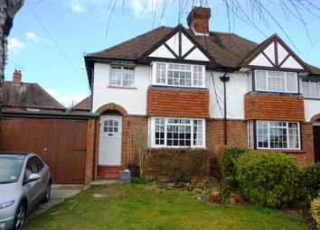 Thumbnail 3 bed semi-detached house to rent in Ashcombe Road, Dorking, Surrey