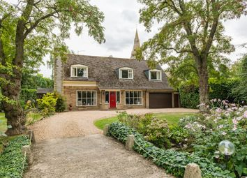 Thumbnail 4 bed detached house for sale in Greatford Gardens, Greatford, Stamford