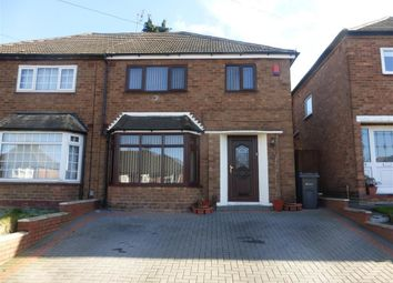 Thumbnail 3 bed property to rent in Craythorne Avenue, Handsworth, Birmingham
