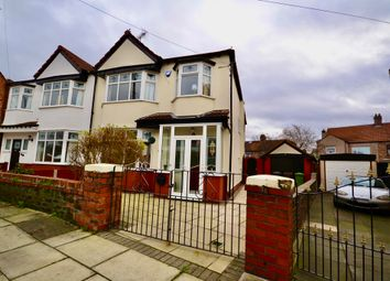 Thumbnail 4 bed semi-detached house for sale in Duddingston Avenue, Liverpool