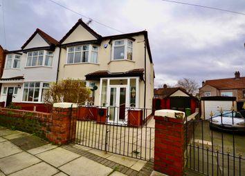 4 bed semi-detached house for sale in Duddingston Avenue, Crosby, Liverpool L23