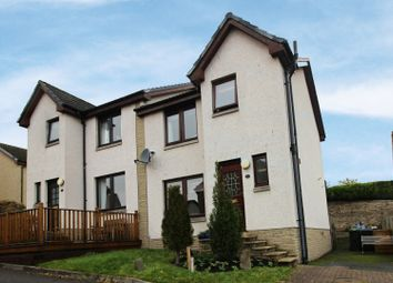 Thumbnail 3 bed semi-detached house for sale in Knowepark Gardens, Galashiels, Selkirkshire