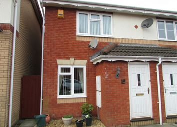 Thumbnail 2 bed semi-detached house to rent in Derwen Deg, Bryncoch, Neath, West Glamorgan