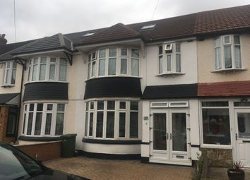 Thumbnail 4 bed terraced house to rent in Broadhurst Avenue, Ilford