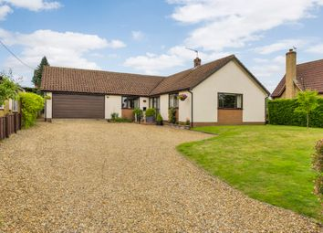 Thumbnail 3 bedroom detached bungalow for sale in Barningham, Bury St Edmunds, Suffolk