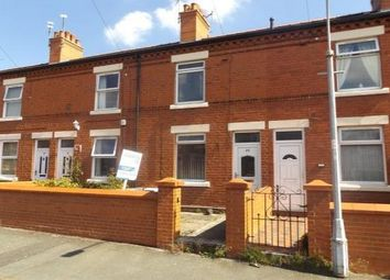 Thumbnail 2 bed terraced house to rent in Bernard Road, Wrexham