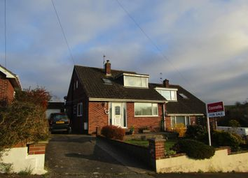 Thumbnail 3 bed semi-detached bungalow for sale in Elmwood Avenue, Newton Abbot