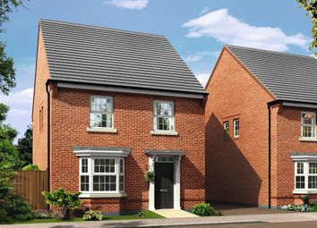 "Thumbnail 4 bedroom detached house for sale in ""Irving"" at Stoke Road, Poringland, Norwich"