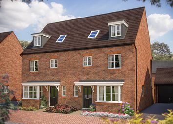 "Thumbnail 4 bed town house for sale in ""The Wimborne"" at Izzard Road, Upper Heyford, Bicester"