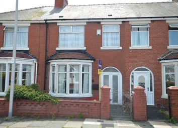 Thumbnail 3 bed terraced house for sale in Harlech Avenue, Blackpool