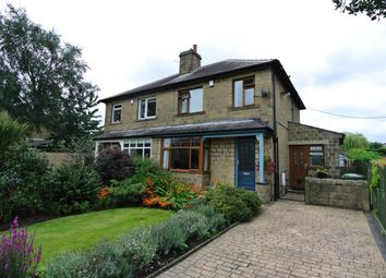 Thumbnail 3 bedroom semi-detached house for sale in Grasscroft Road, Honley, Holmfirth
