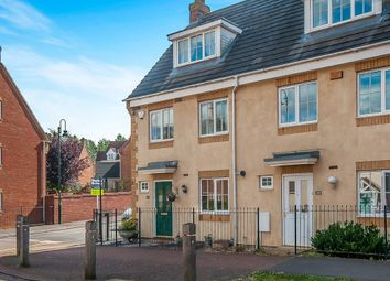 Thumbnail 3 bed end terrace house for sale in Vale Drive, Hampton Vale, Peterborough