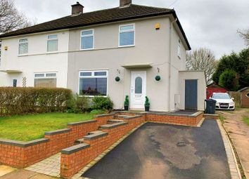 Thumbnail 2 bed semi-detached house for sale in Broseley Avenue, Northfield, Birmingham