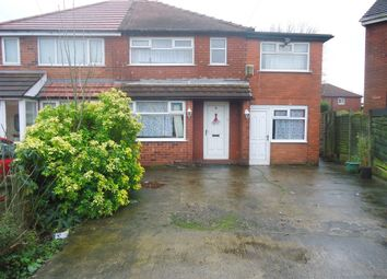 Thumbnail 3 bed semi-detached house for sale in Annable Road, Gorton