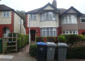 Thumbnail 4 bed semi-detached house to rent in Wood Lane, London