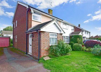 Thumbnail 3 bed semi-detached house for sale in Nortons Way, Five Oak Green, Tonbridge, Kent