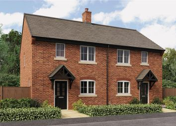 "Thumbnail 3 bed semi-detached house for sale in ""Nevis"" at Burton Road, Streethay, Lichfield"