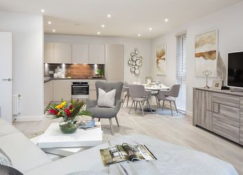 "Thumbnail 3 bedroom flat for sale in ""Hawthorn Apartment"" at Meadowlark House, Moorhen Drive, Hendon, London"