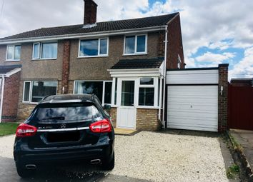 Thumbnail 3 bed semi-detached house for sale in Sapcote Drive, Melton Mowbray