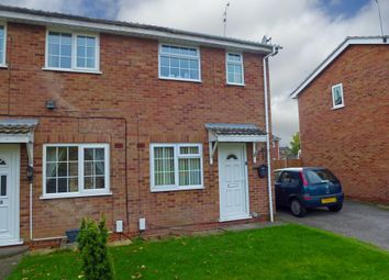 Thumbnail 2 bedroom semi-detached house for sale in Ibsley Close, Alvaston, Derby