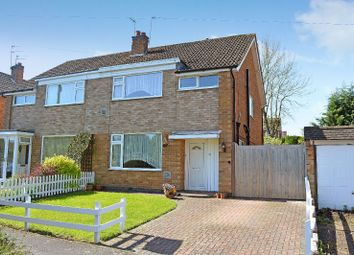 Thumbnail 3 bed semi-detached house for sale in London Road, Oadby, Leicester