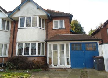 Thumbnail 3 bed semi-detached house for sale in Stoney Lane, Yardley, Birmingham