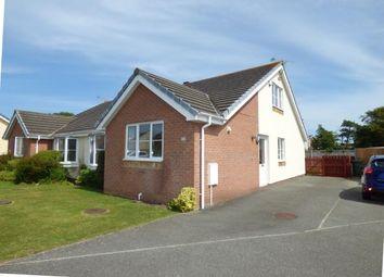 Thumbnail 4 bed bungalow for sale in Garth Y Felin, Valley, Holyhead, Sir Ynys Mon