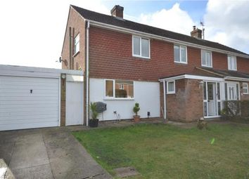 Thumbnail 3 bed semi-detached house for sale in Fir Close, Fleet, Hampshire