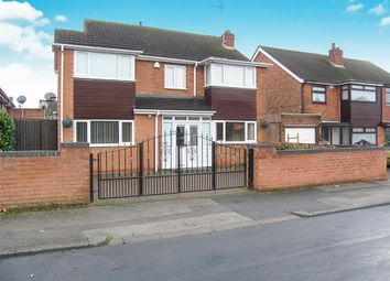 Thumbnail 4 bedroom detached house for sale in Lichfield Road, Broadway Estate, Nr Wednesfield