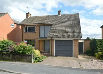 Thumbnail 4 bedroom detached house for sale in Park Road, Ratby, Leicester