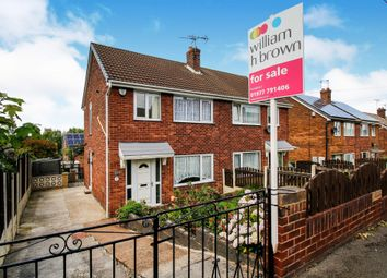 Thumbnail 3 bedroom semi-detached house for sale in Springfield Avenue, Pontefract