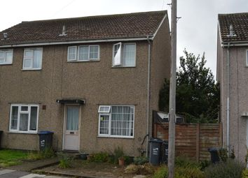 Thumbnail 2 bed semi-detached house for sale in St. Anthonys Way, Margate
