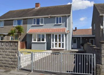 Thumbnail 3 bed semi-detached house for sale in Clwyd Road, Swansea