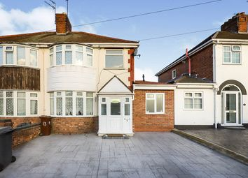 4 bed semi-detached house for sale in Norbury Road, Wolverhampton, West Midlands WV10