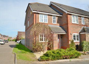 Thumbnail 2 bed end terrace house to rent in Mallard Way, Aldermaston, Reading, Berkshire
