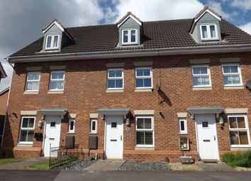 Thumbnail 3 bed town house to rent in Brick Kiln Way, Bedworth