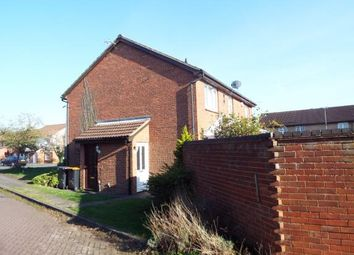 Thumbnail 1 bed terraced house for sale in Vanbrugh Drive, Houghton Regis, Dunstable, Bedfordshire