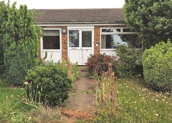 Thumbnail 2 bed terraced bungalow for sale in Smith Crescent, Kessingland, Lowestoft