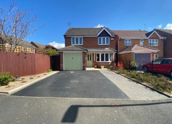 Thumbnail 4 bed detached house for sale in Highgrove Close, Coalville, Leicestershire