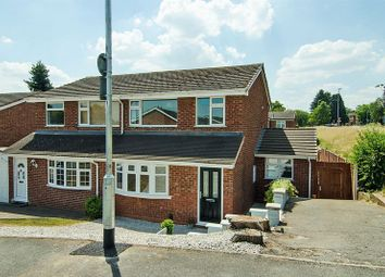 Thumbnail 3 bed semi-detached house for sale in Irving Close, Lichfield