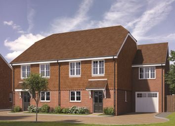 Thumbnail 4 bed semi-detached house for sale in Walshes Road, Crowborough