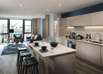 Thumbnail 3 bed flat for sale in Corio, Grange Walk, London