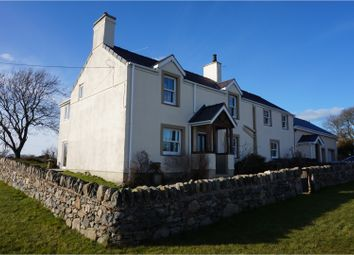 Thumbnail 6 bed detached house for sale in Pentraeth