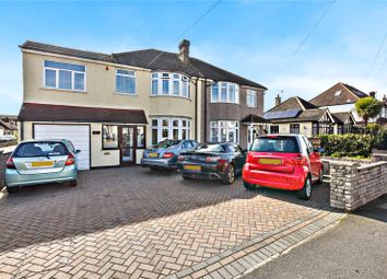 Thumbnail 4 bed semi-detached house for sale in Glynde Road, Bexleyheath, Kent
