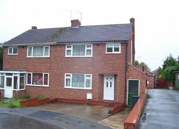 Thumbnail 3 bed semi-detached house to rent in Harport Road, Greenlands, Redditch, Redditch