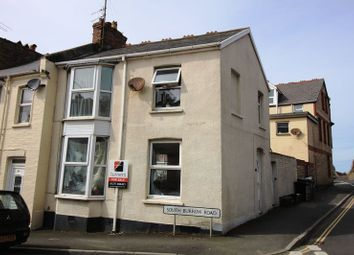 Thumbnail 2 bed end terrace house for sale in South Burrow Road, Ilfracombe