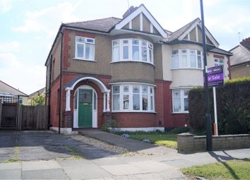 Thumbnail 3 bed semi-detached house for sale in Churchbury Lane, Enfield
